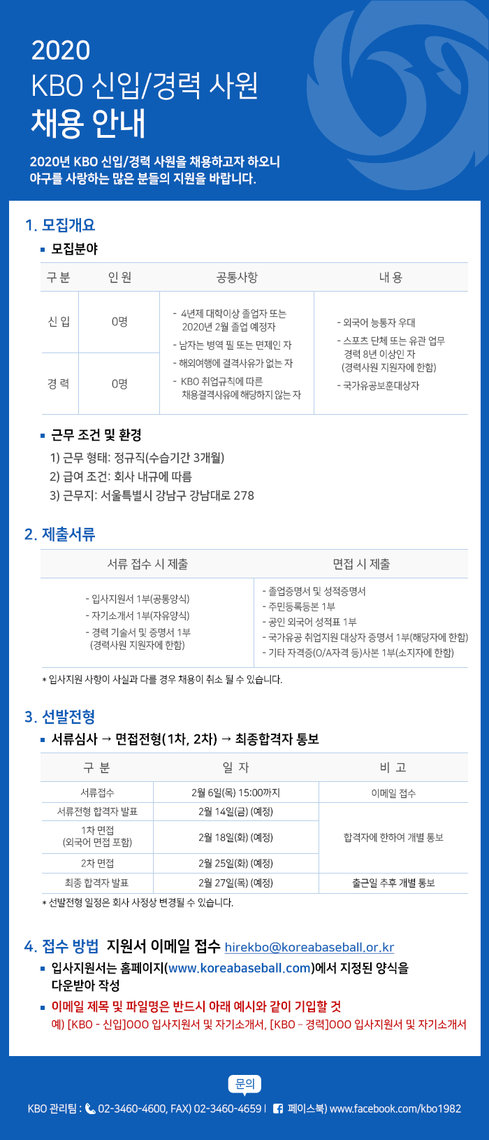 notice/images/2020/1/2020 KBO 신입,경력사원 채용-공고.png